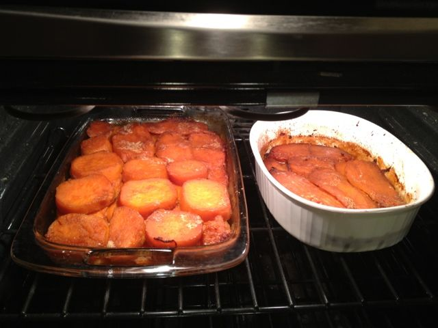 A Daily Scoop: Candied yams  A delicious recipe for candied yams! No marshmallows needed!