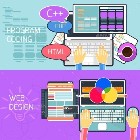 Program Coding And Web Design