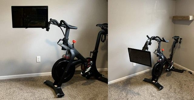 Can You Watch Tv On Peloton Honest Willow Adjustable Monitor Arm For Peloton Bike In 2020 Peloton Bike Peloton Biking Workout