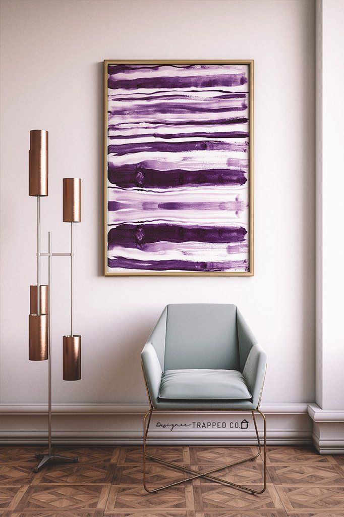 729 best bedroom decor images on pinterest dining room for Purple dining room wall art