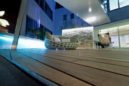 #outdoor #living - teak burma decking