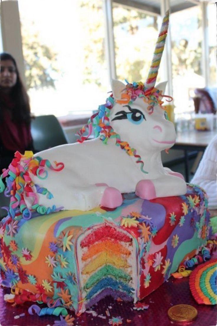 Unicorn Birthday Cakes For Girls
