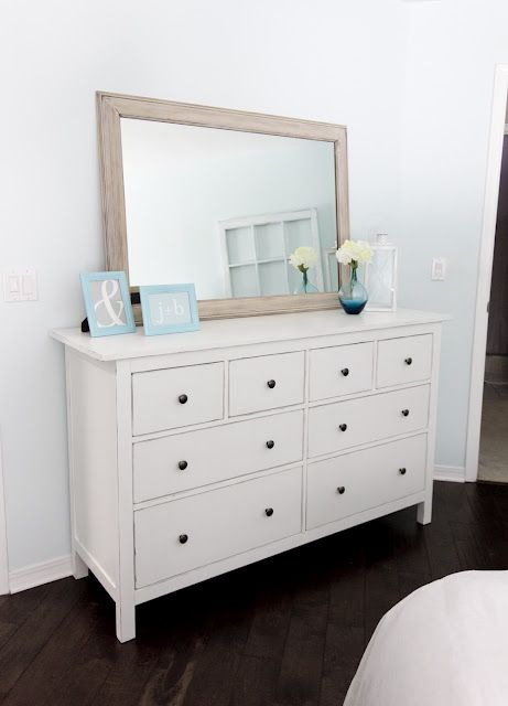 Hemnes 8 Drawer Dresser White Stain