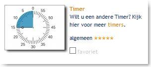 Time Management: Een handige tool met een timer, zandloper, stopwatch  en meer.