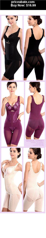 Women-Shapewear:  Women Seamless Full Body Shaper Waist Underbust Cincher Suit Control Firm Tummy - BUY IT NOW ONLY $16.99