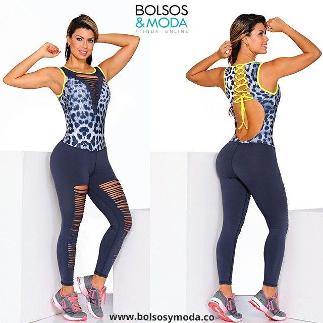 Enterizo Deportivo Gris con estampado  Animalprint.  #enterizos #ropadeporte #ropasport #gym #fitness #ropadeportiva #enterizodeportivo #fitnessworld #fitnesswomen