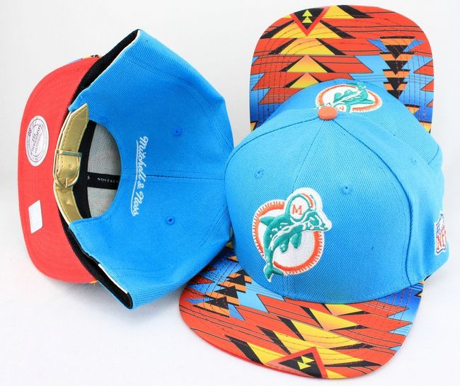 Dolphin Navajo Retro Bill Gold Leather StrapBack cap