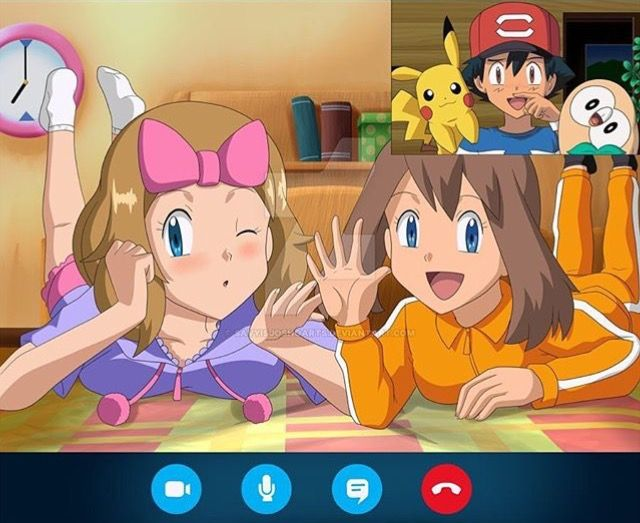 445 Best Amourshipping Ash X Serena Images On Pinterest -9302