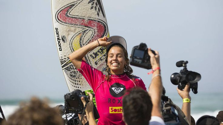 PHOTOS: Sally Fitzgibbons in French seventh heaven.
