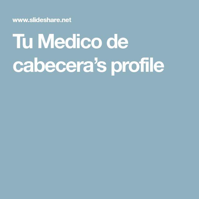 Tu Medico de cabecera's profile