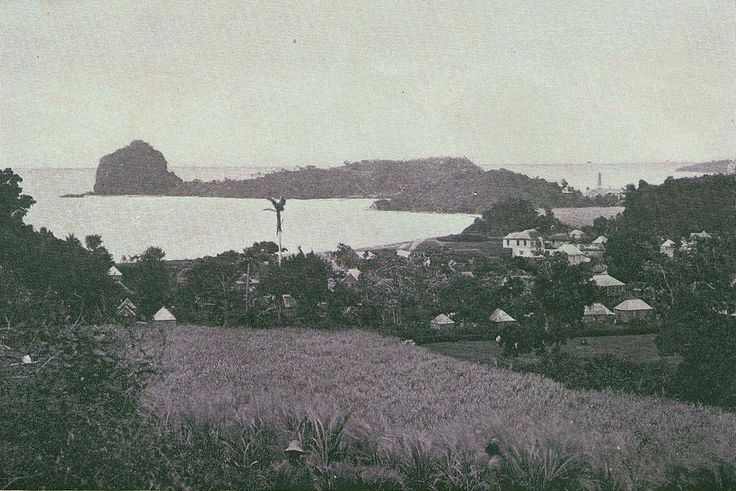 Kingstown in den 1890er Jahren ◆St. Vincent und die Grenadinen – Wikipedia http://de.wikipedia.org/wiki/St._Vincent_und_die_Grenadinen #Saint_Vincent_and_the_Grenadines