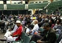 An emergency summit was called in Chicago at Chicago State University by the members of the Congressional Black Caucus, resulting in hundreds gathering to discuss ways to slow and work to halt urban violence.