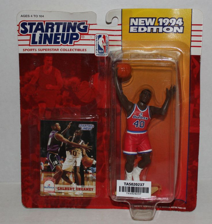 (TAS020237) - 1992 Starting Lineup NBA: Calbert Cheaney - Bullets