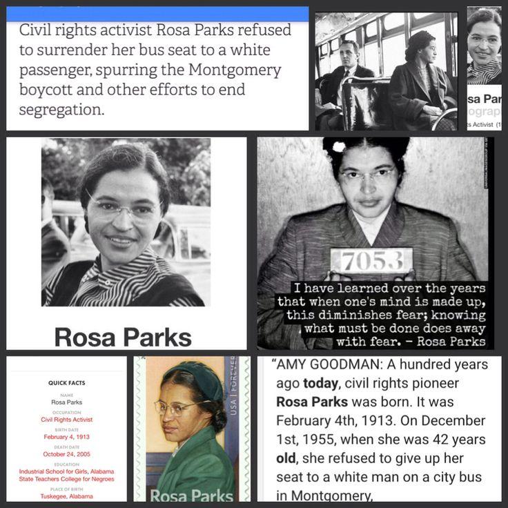 essays rosa parks