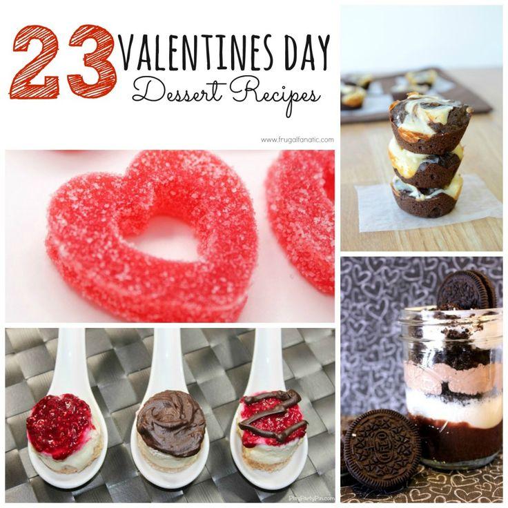 23 Valentines Day Desserts