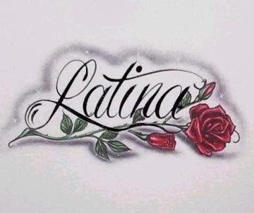 Latina Rose Graphic for Orkut