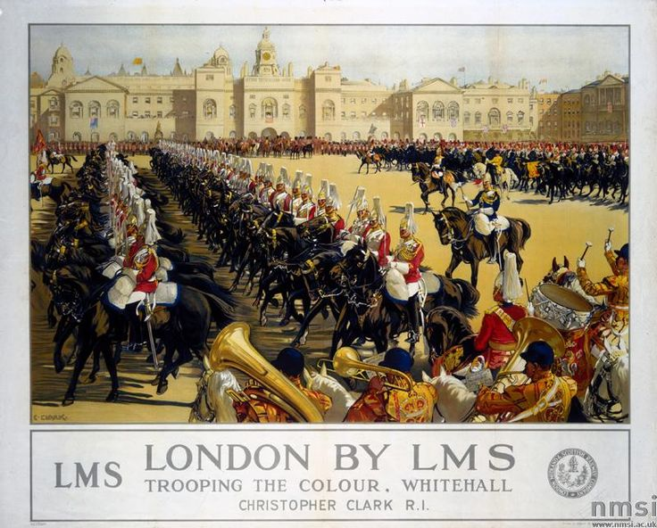 , London Midland & Scottish Railway, 'London by LMS - Trooping the Colour…