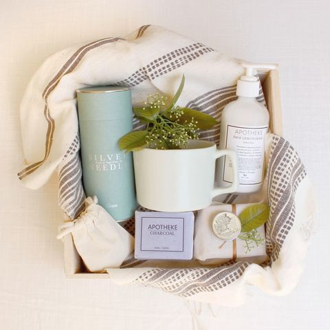 Loved and Found Detox Box. Curated Spa Gift.