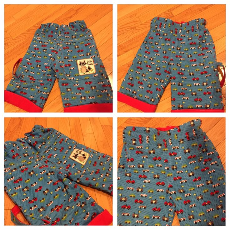 Rohan Skater Shorts, pattern by The Crafty Kitty