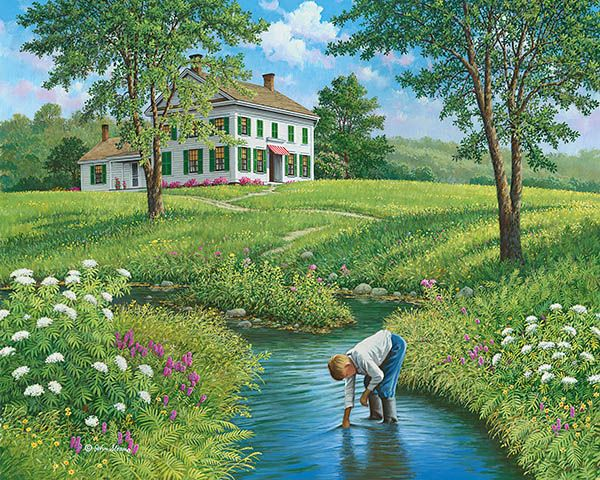 Day Of Discovery 169 John Sloane In 2019 Farm Art