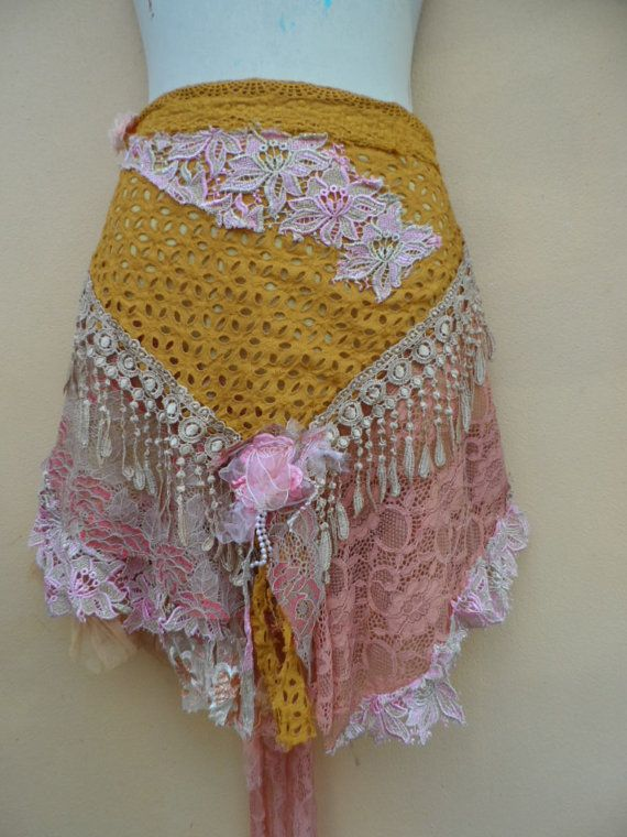 20% OFF vintage inspired pixie belt/tutu/bustle ..32 by wildskin