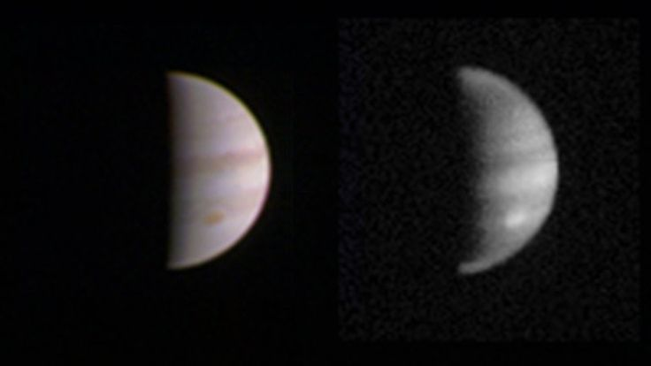 The US space agency's Juno probe makes its first close approach to Jupiter since…