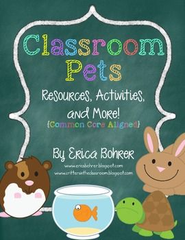 Classroom Pets -She also has a FREEBIE, shortened version of this document.