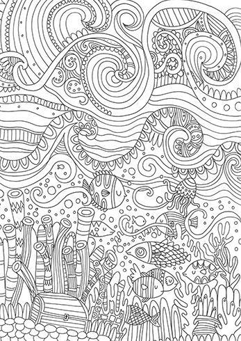 1000 Ideas About Ocean Coloring Pages On Pinterest