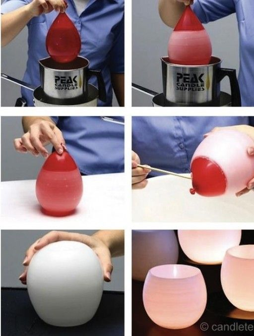 Wie man schöne Kerzenschüssel macht