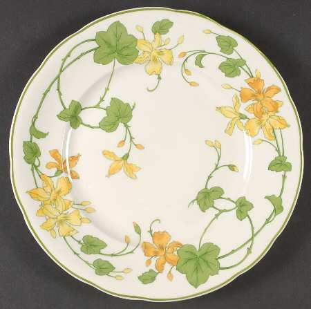 Geranium (Non-Ribbed Rim) - Replacements Ltd Love this.  So sorry they discontinued it. I still use the dinner plates.