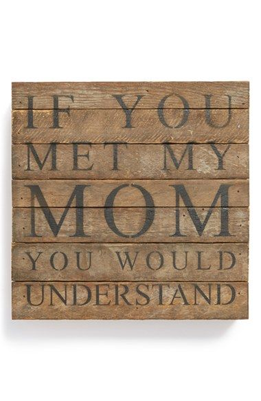 my sister totally needs to get this for my mom