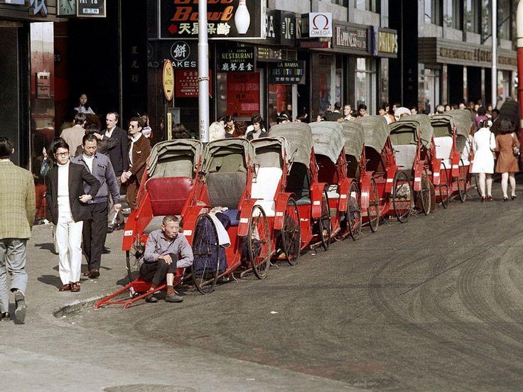 """""""Rickshaw"""" (Hongkong 1972)"""