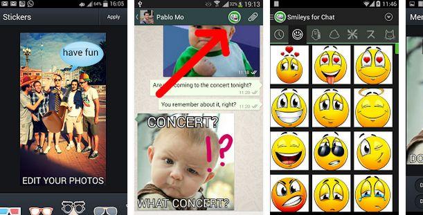 Descarga los mejores Smileys y memes para chat