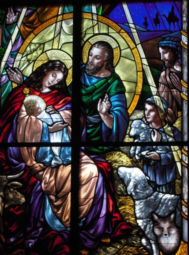Gorgeous stained glass windows at Saints Anne & Joachim Catholic Church, Fargo, North Dakota