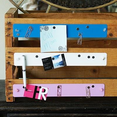 mini magnetic bulletin board