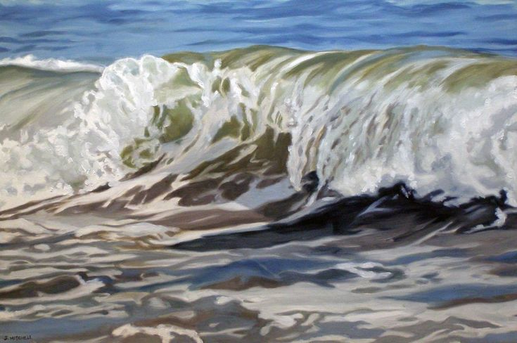 Cold Water Wave – 14 Bells Fine Art Gallery