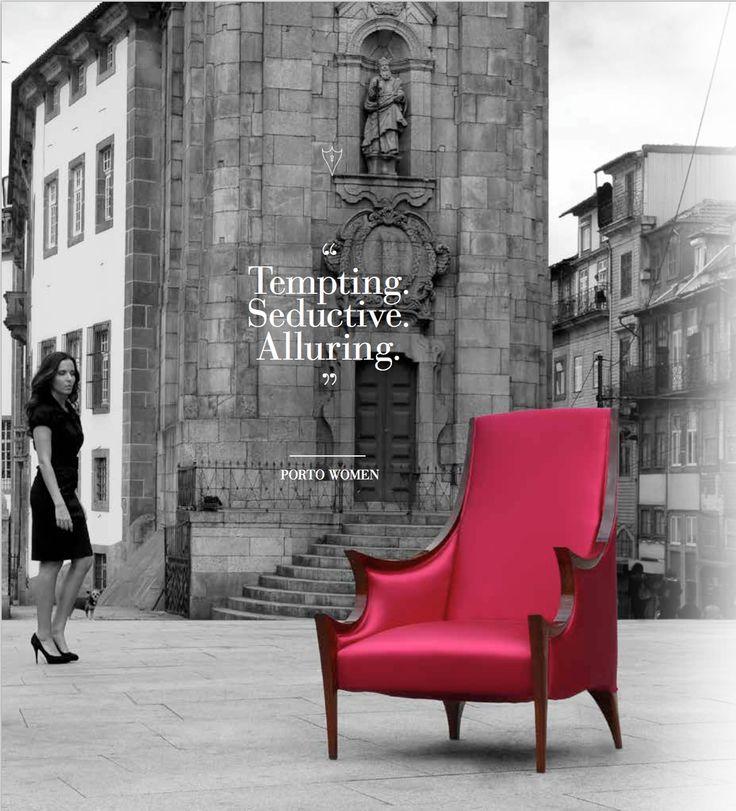 Porto Women | Inspiration www.bateye.com #bateye #bateyecollection #bateyepieces #luxury #luxuryfurniture #chair