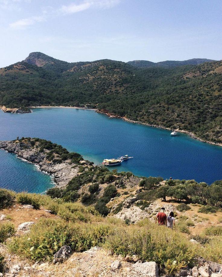 St. Nicholas Island (#Gemiler Adasi) near #Oludeniz #Fethiye #Turkey