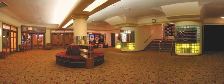 Downstairs foyer, Capri Theatre which is situated in Goodwood, an inner suburb of Adelaide, the capital city of South Australia.  Was originally named 'Star'