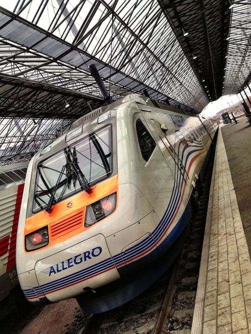 ALLEGRO Train from Helsinki to St Petersburg-the fastest and most comfortable way to get to Russian and back
