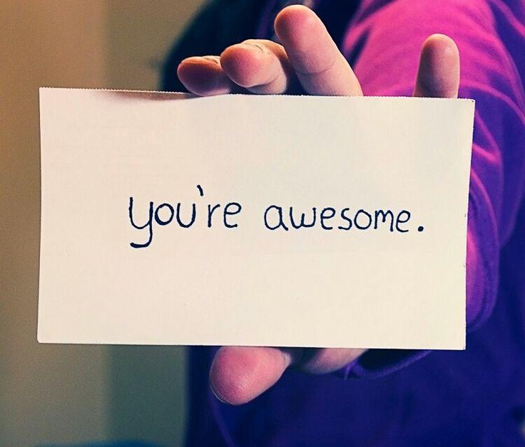 U  r  Awesome.