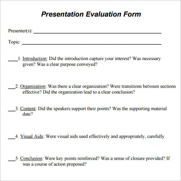 Survey Questions To Ask After A Presentation Sample Presentation