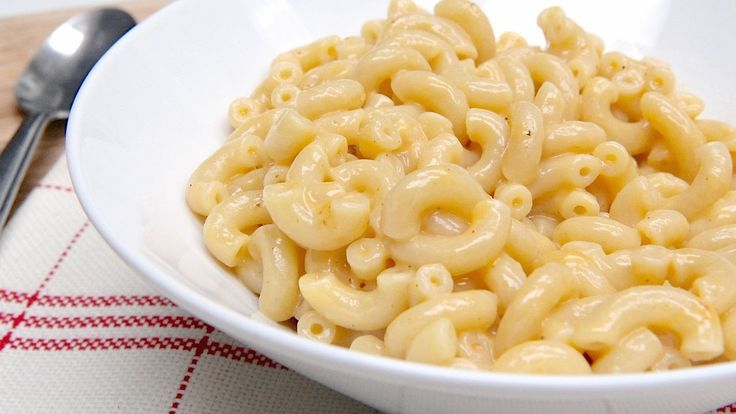 Homemade Macaroni & Cheese FOR ONE!