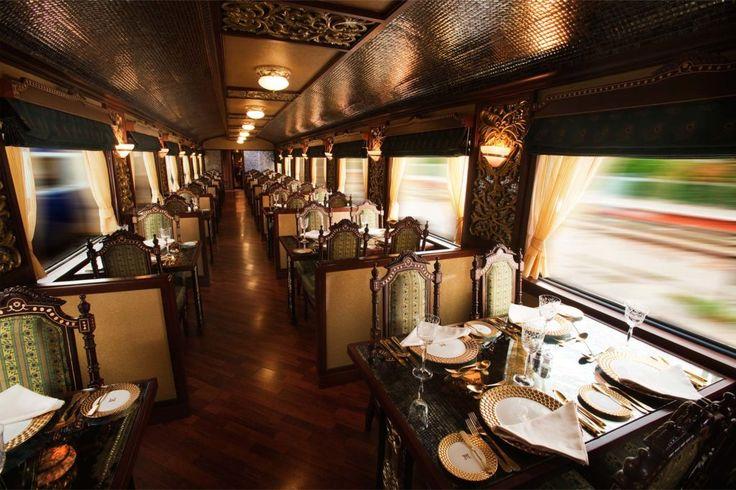 Интерьер поезда Maharaja's Express: дворец на рельсах | http://idesign.today/dizajn-interiera/interer-poezda-maharajas-express