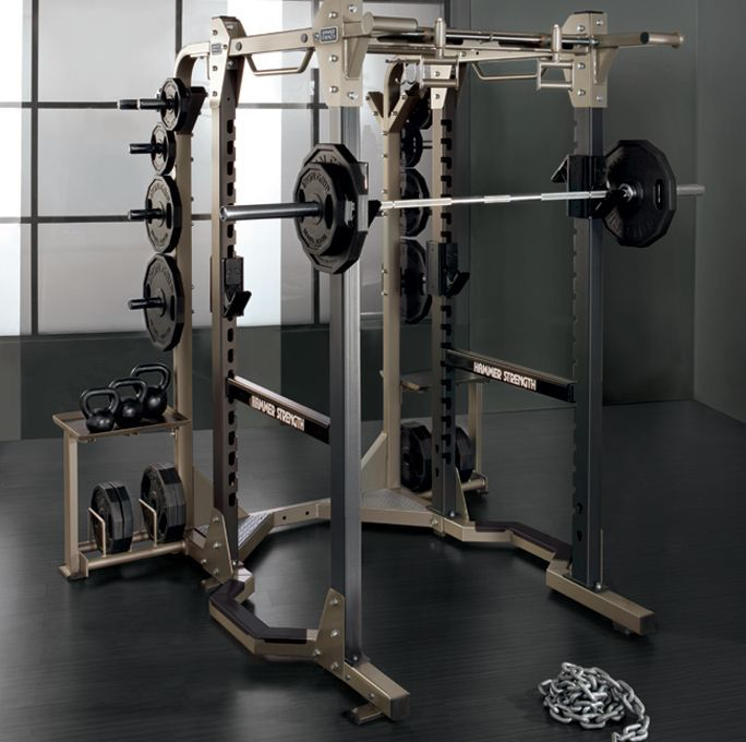 Hammer Strength Power Rack https://uk.pinterest.com/uksportoutdoors/home-gyms/pins/
