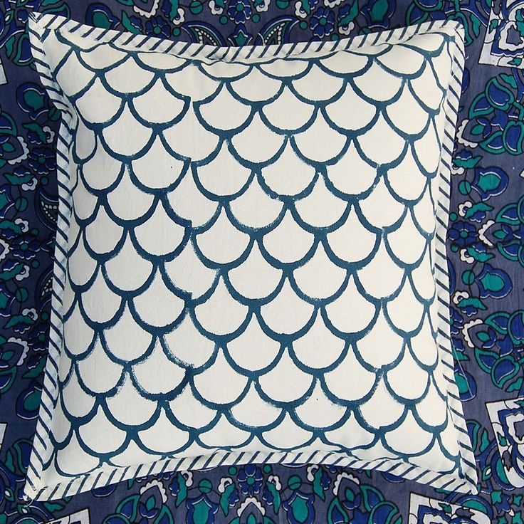 Cotton Hand Block Print Cushion Cover Block Print Sofa Cushion Printed Cushion