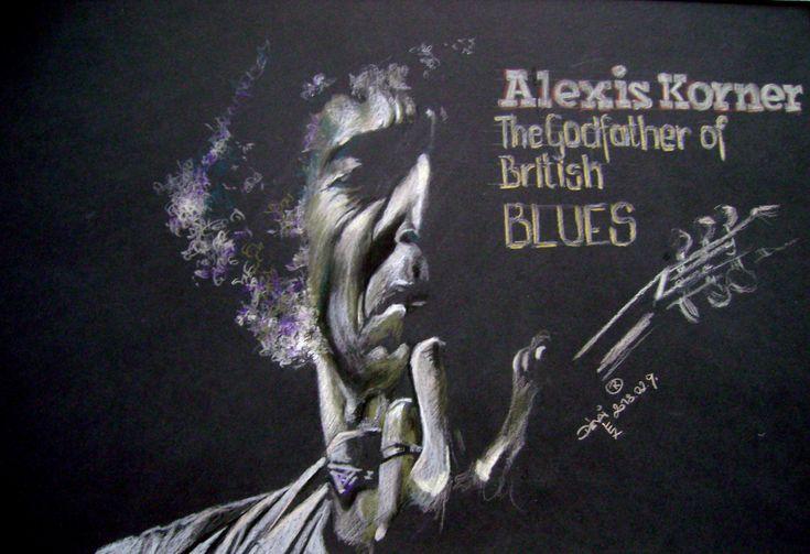 Alexis Korner az angol Blues zene alapítója