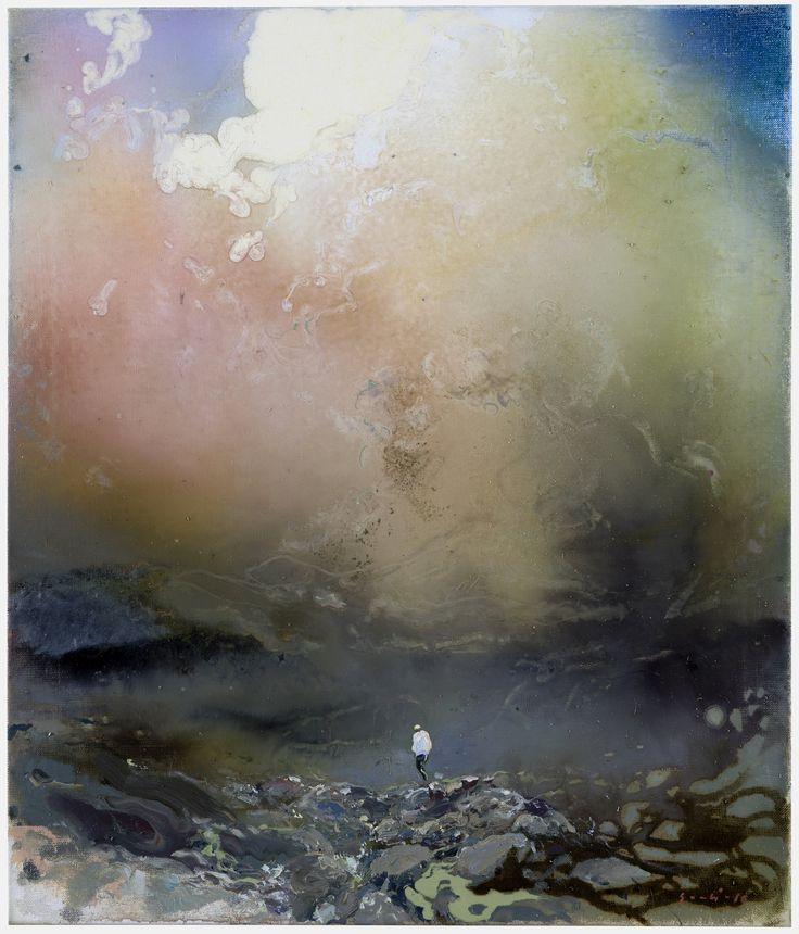 Tuomo Saali, Misty Morning, oil on canvas, 2016, 70x60cm