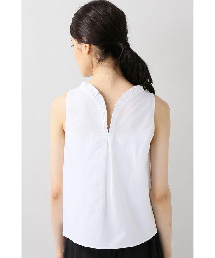【送料無料】ベイクルーズ運営のIENA(イエナ)公式のファッション通販サイト。Atlantique Ascoli ラッフルノースリーブブラウスを、最短翌日お届け、通常3%ポイント還元。オンラインで店舗在庫の確認・取り置きが可能です。