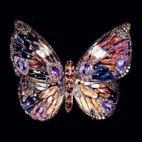 WALLACE CHAN multicoloured butterfly
